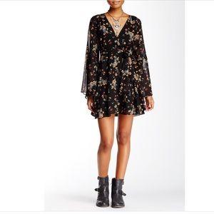 Free People Lilou printed dress size small NWT
